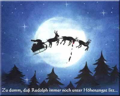 Weihnachten Kotzrudolph